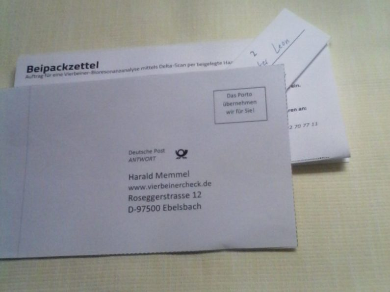 Begleitpapiere ob als Ausdruck oder Online gibt es auf www.vierbeinercheck.de